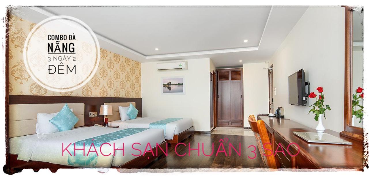 Khách sạn 3 sao trong gói Combo Đà Nẵng 3 ngày 2 đêm